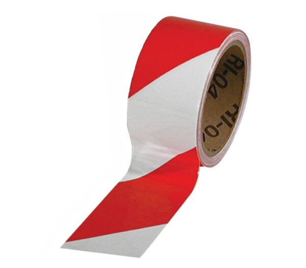 3M rood witte tape