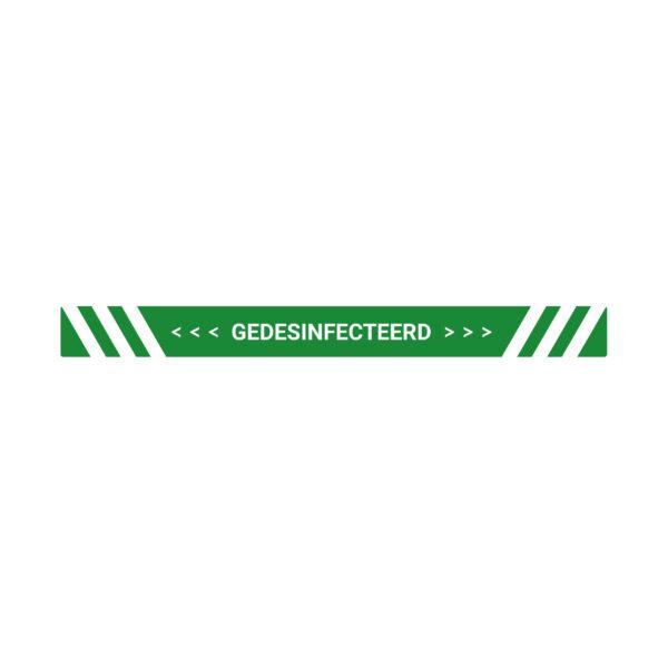 Gedesinfecteerd Sticker